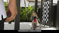 ExxxtraSmall - Petite Blonde Harlow West In Drage-Race Girl Costume Rides Big Dick