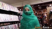 Islamic gloryhole babe