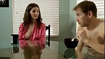 Molly Jane in mom eats my dick instead of breakfast