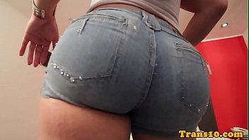 Amateur latina tgirl doggystyled