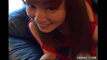 Asian hotte Kao Sugimori nailed hard!