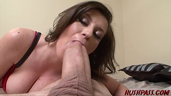 Sexy Sara Stone Takes a Crack at the Huge Cock of Whitezilla