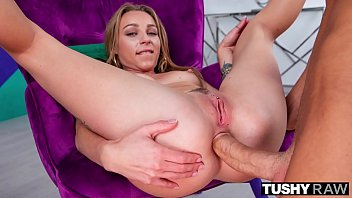 TUSHYRAW All she thinks about is getting a cock in her ass