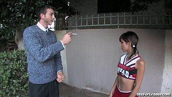 Tight Cheerleader Fucked Hard By Her Teacher