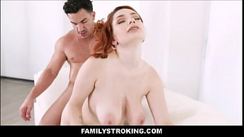 Big Tits Big Ass Redhead Teen Stepsister Annabel Redd Accidentally Family Fucked By Stepbrother During Fight