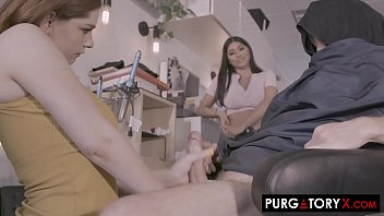 PURGATORYX Trim and a Shave Vol 1 Part 2 with Annabel and Violet