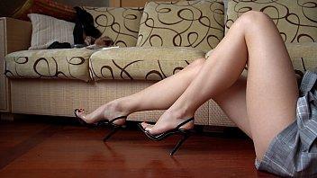 Sexy and Nice Feet Teasing