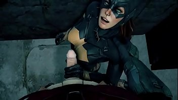 Batgirl loves robin dick